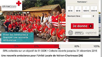 Le crowdfunding au secours d'une ambulance de la Croix-Rouge