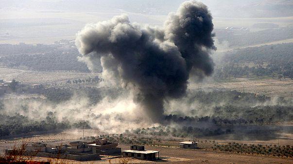 Ofensiva contra Mossul em várias frentes, Daesh contra-ataca