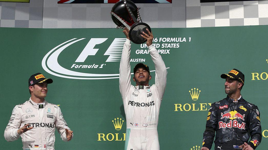 Speed : Hamilton au top, Marquez à terre