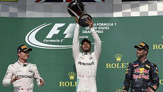 Hamilton 50. győzelme, Rosberg előnye csökkent