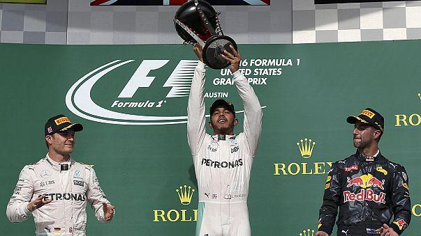 Motori: Hamilton trionfa ad Austin, Crutchlow vince a Phillip Island