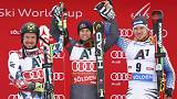 Alpine skiing: Pinturault wins World Cup season opener in Soelden