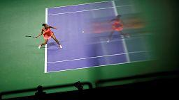 Kerber and Halep start WTA Finals on winning note