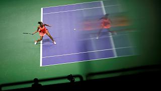 Итоговый чемпионат WTA: Кербер обыграла Цибулкову, Халеп справилась с Кис