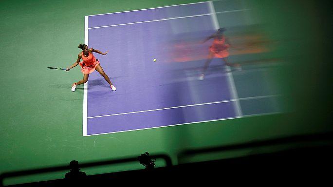 كرة المضرب: بداية جيدة لهاليب في بطولة الماسترز للاعبات الثماني الاوليات في العالم