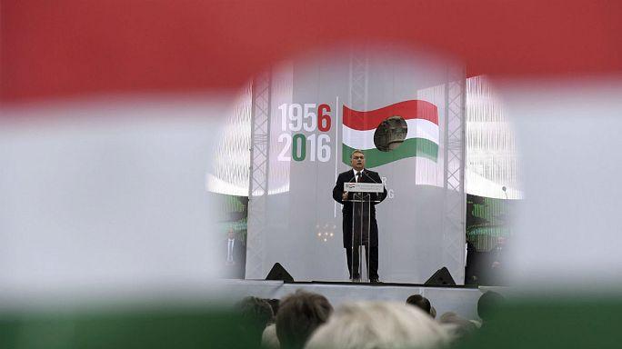 Ungarische Politiker nutzen Gedenktag für politischen Schlagabtausch