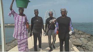 The sea urchin fisherwomen of Senegal