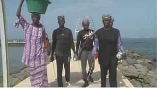 The sea urchin fisherwomen of Senegal