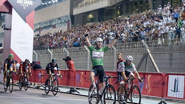 Kangert wins Abu Dhabi Tour as Cavendish claims final stage