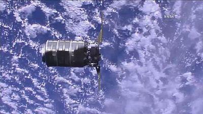 Opération ravitaillement pour la station spatiale internationale