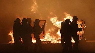 Összecsapások Calais-ben a Dzsungel felszámolása miatt