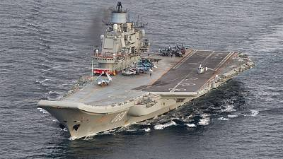 Video: Russia's cold war aircraft carrier the Admiral Kuznetsov