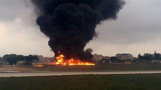 Malta: Fünf Franzosen bei Flugzeugabsturz getötet