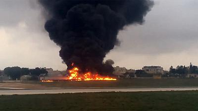 Five people reported dead in Malta plane crash