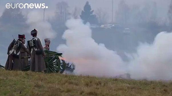 Des milliers de Russes rejouent la bataille napoléonienne
