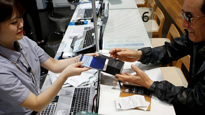 Samsung : offre de surclassement pour les clients coréens