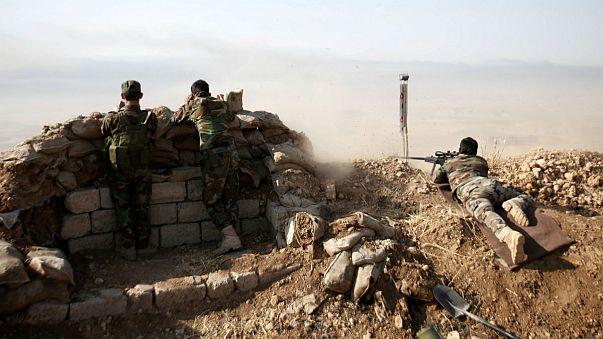Iraker und Peschmerga rücken auf Mossul vor