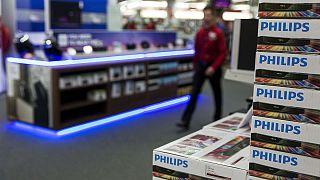 Philips crece en beneficios trimestrales gracias al material médico y pese a la iluminación