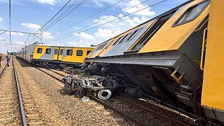 South Africa train collision: One dead, 100s injured
