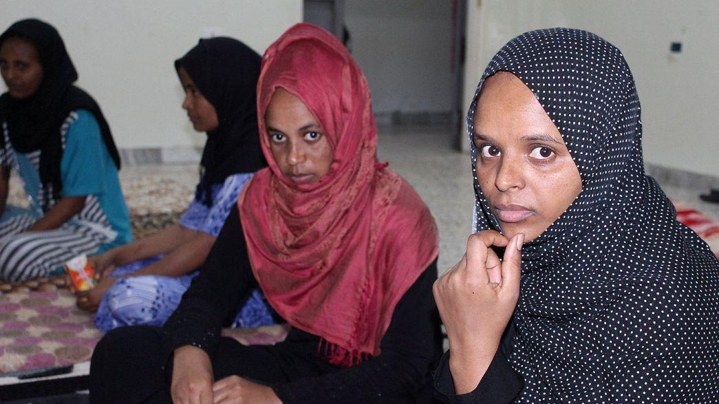 Liberada del yugo del Dáesh en Sirte, una niña de Eritrea cuenta su calvario