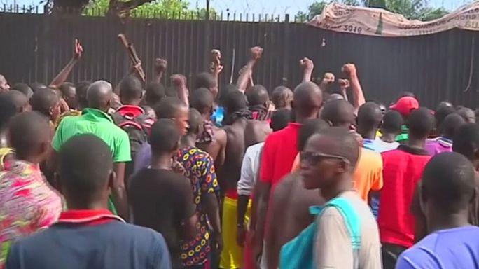Orta Afrika Cumhuriyeti'nde göstericiler BM askerlerinin gitmesini istiyor