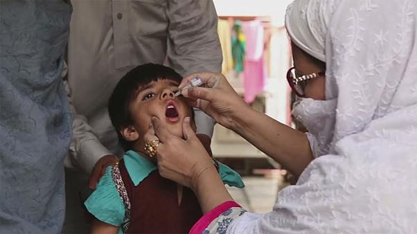 Polio in decline in Pakistan
