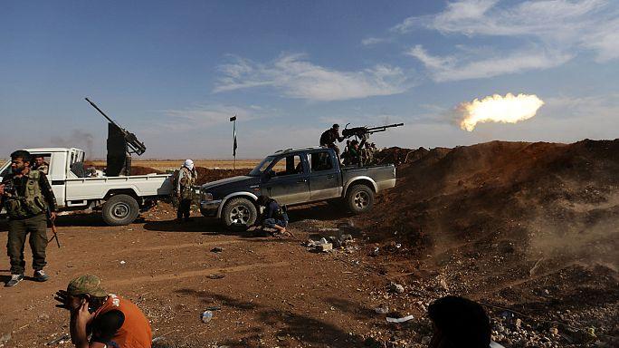 İdlib ve Halep'e hava saldırıları