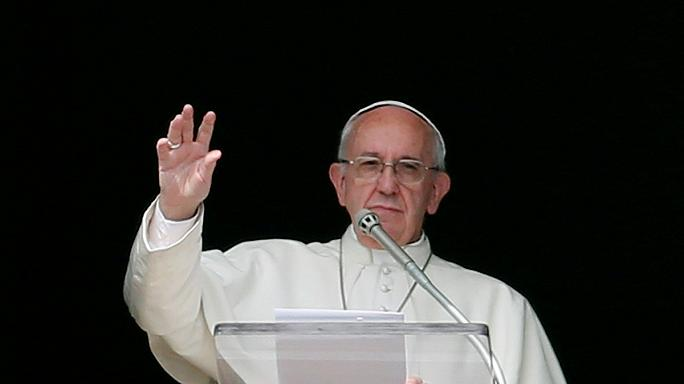 El papa Franciso recibe al presidente de Venezuela Maduro en audiencia privada
