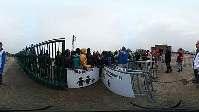 France: début de l'évacuation de la «Jungle» de Calais