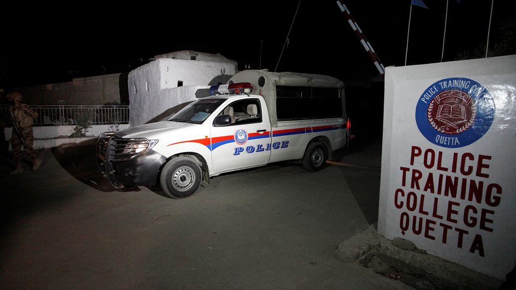 Pakistan : 59 apprentis policiers abattus
