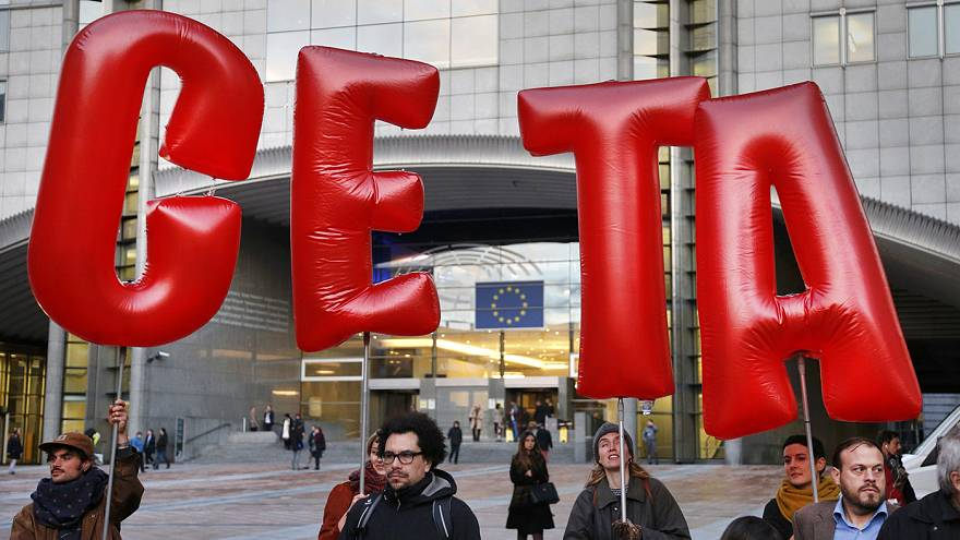 'CETA is not dead' - trade deal can be saved says EU