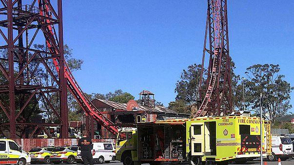Four killed on theme park ride in Australia