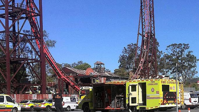Four killed on theme park ride in Australia