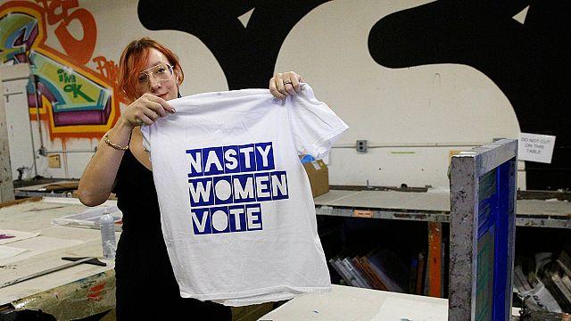 'Nasty woman' T-shirts bid to turn the tables on Trump