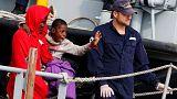 Италия. Сотни мигрантов спасены у берегов Сицилии