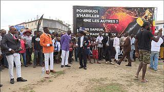 Congo : première édition du Festival des sapeurs dans la ville de Pointe-Noire [no comment]
