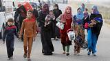 Mossul: Campos de refugiados acolhem deslocados de guerra