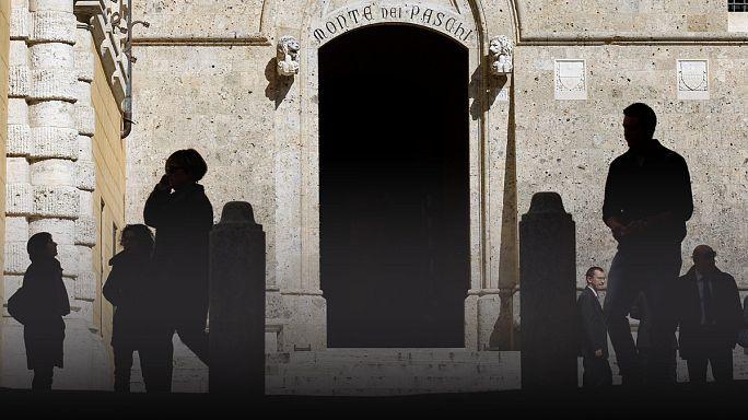 استمرار معاناة بنك مونتي دي باسكي