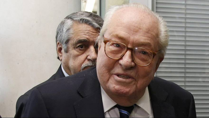 Jean-Marie Le Pen's immunity lifted over racial hatred charges