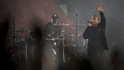Jay Z en concert pour soutenir Hillary Clinton