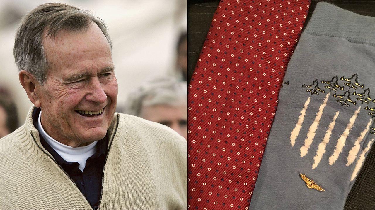 George HW Bush's Socks
