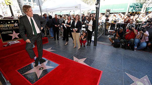 Hugh Laurie (Dr House) a son étoile à Hollywood