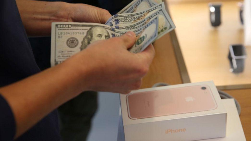 Le chiffre d'affaires d'Apple recule pour la 1ère fois en 15 ans