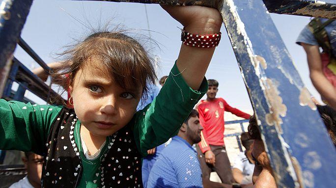 Comienza a llegar la ayuda de la Media Luna Roja turca a los campamentos de desplazados por la ofensiva de Mosul