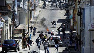 Students protest as Venezuela's political standoff continues
