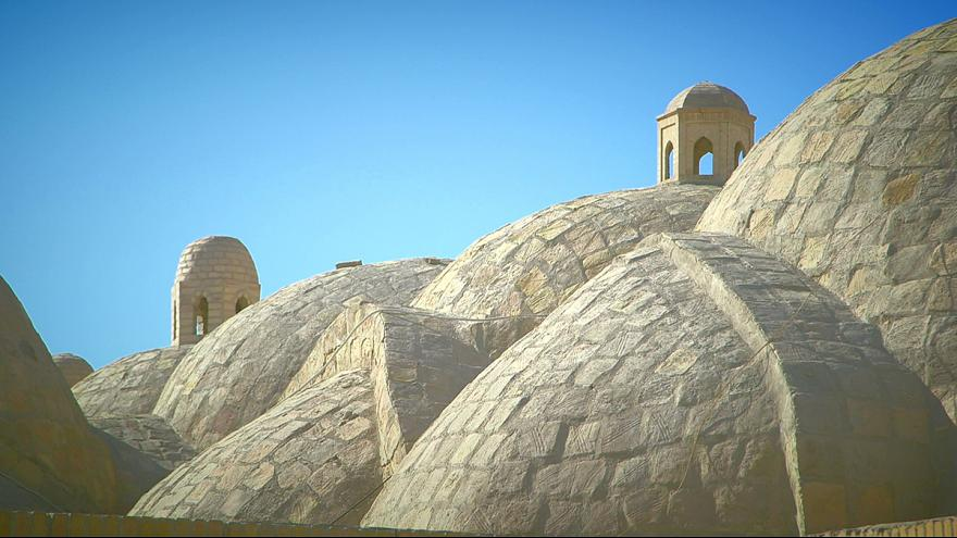 Video Postcards From Uzbekistan Bukharas Famous Trading Domes