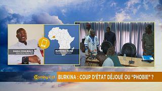 """Burkina Faso : Coup d'État déjoué ou """"phobie""""?"""
