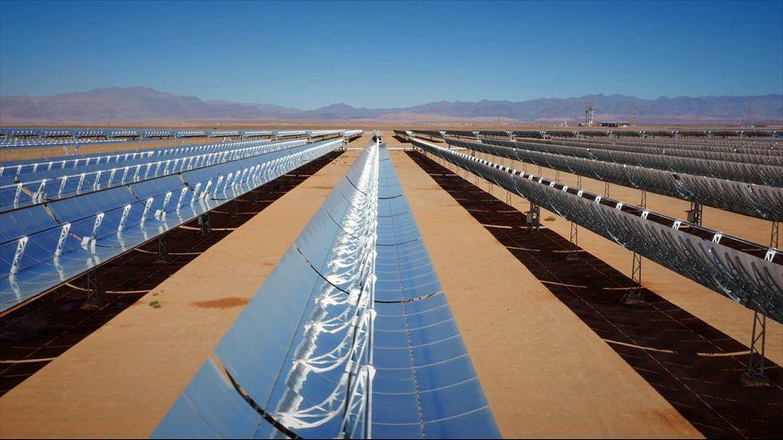 Ouarzazate - a világ legnagyobb naperőműve