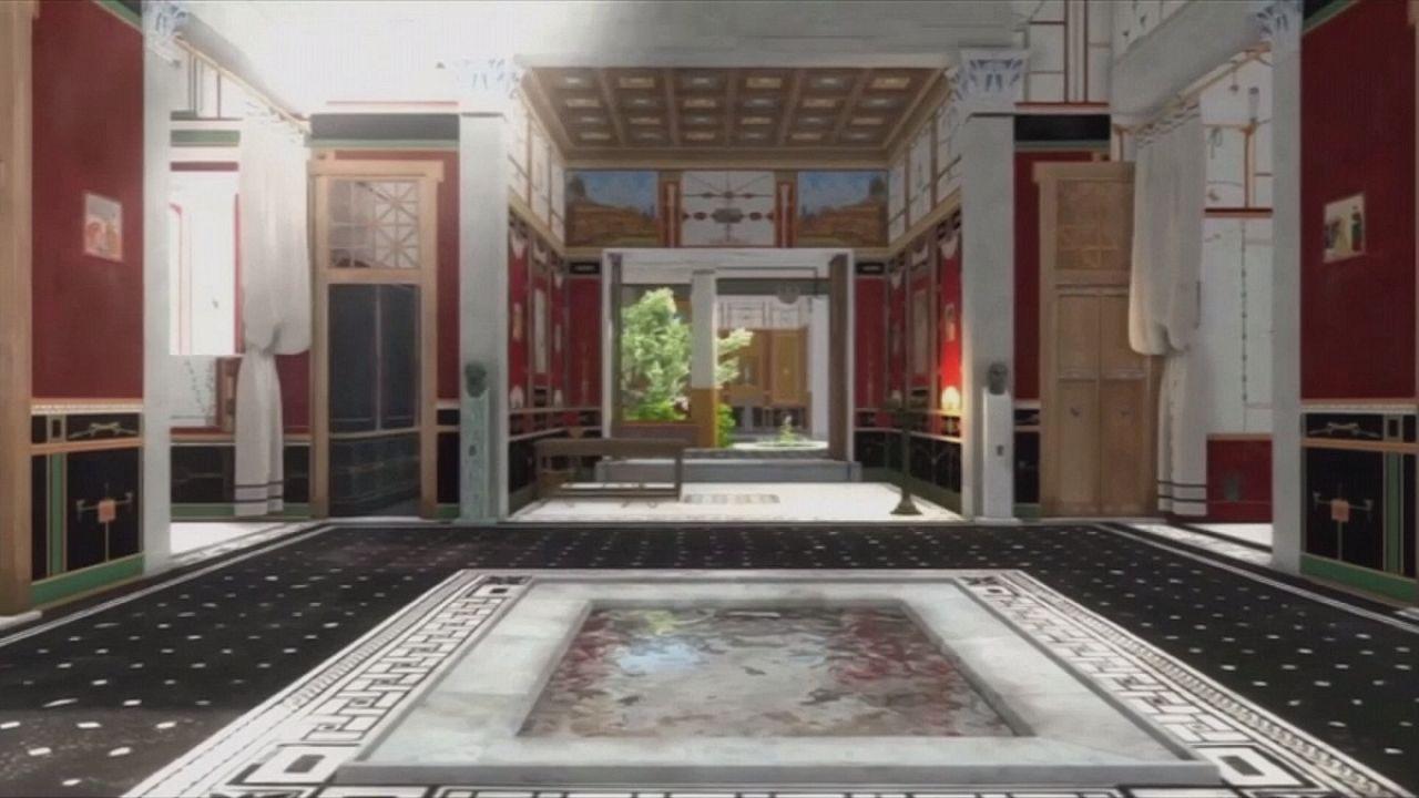 Az antik világ és a high-tech találkozása egy pompeji házban