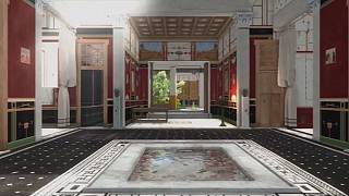 Ancient meets modern in 3D reconstruction of Pompeii home